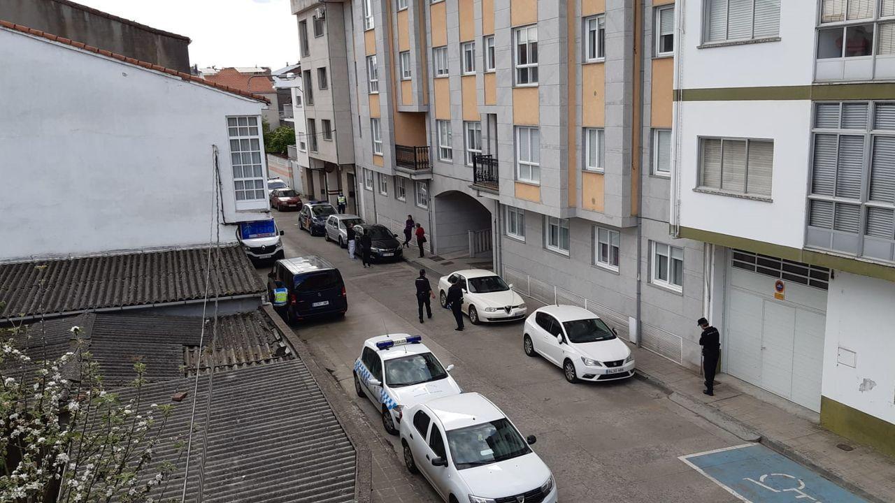 El hombre apareció sin vida en uno de los pisos del edificio número 22-24 de la calle Germán Vázquez
