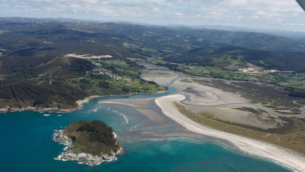 La isla de San Vicente frente a las playas de Cabalar y Ladrido, la zona favorita de Borja Quiza