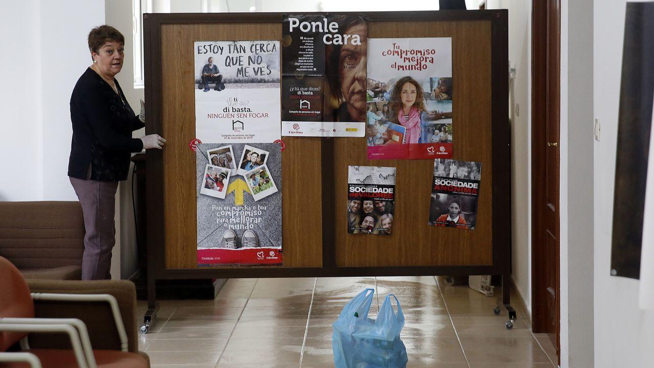 Punto de prueba de coronavirus en Ourense