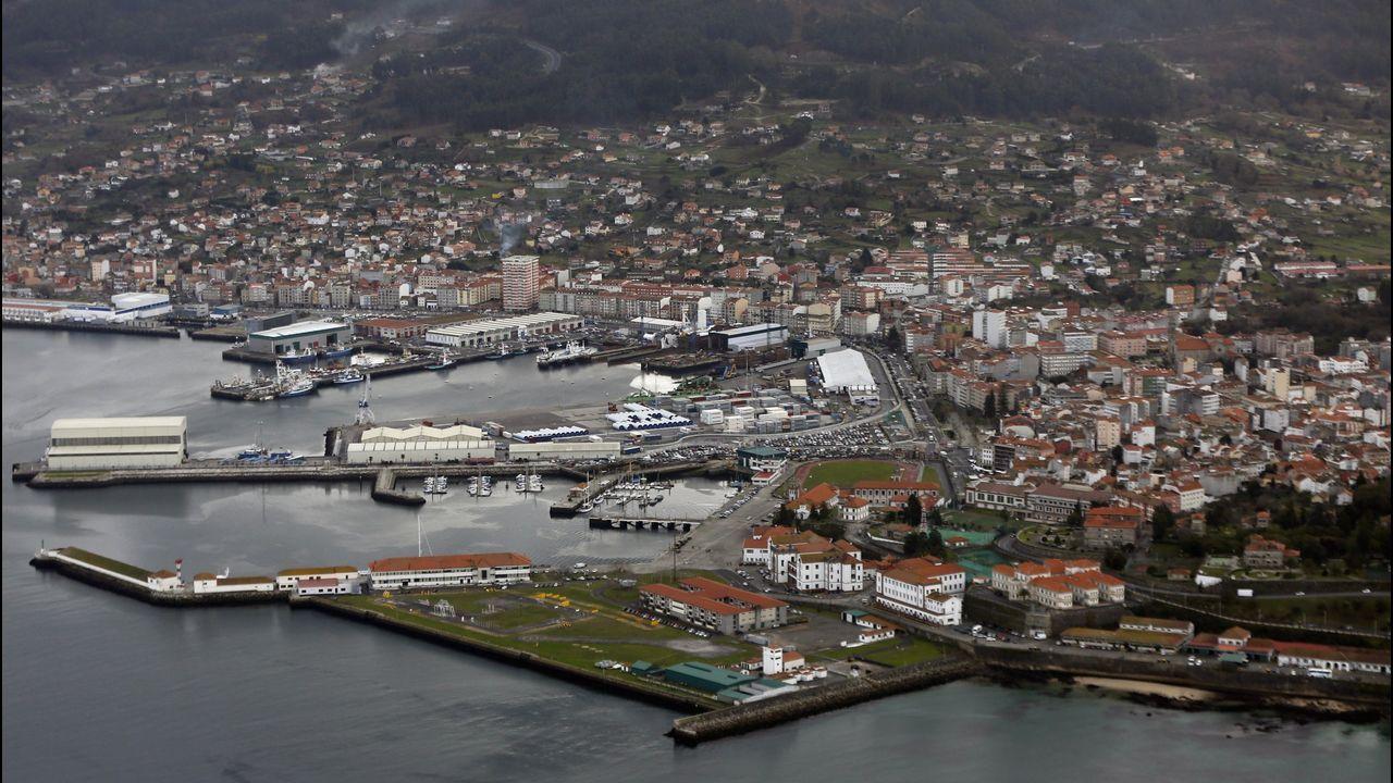Vista aérea de Marín