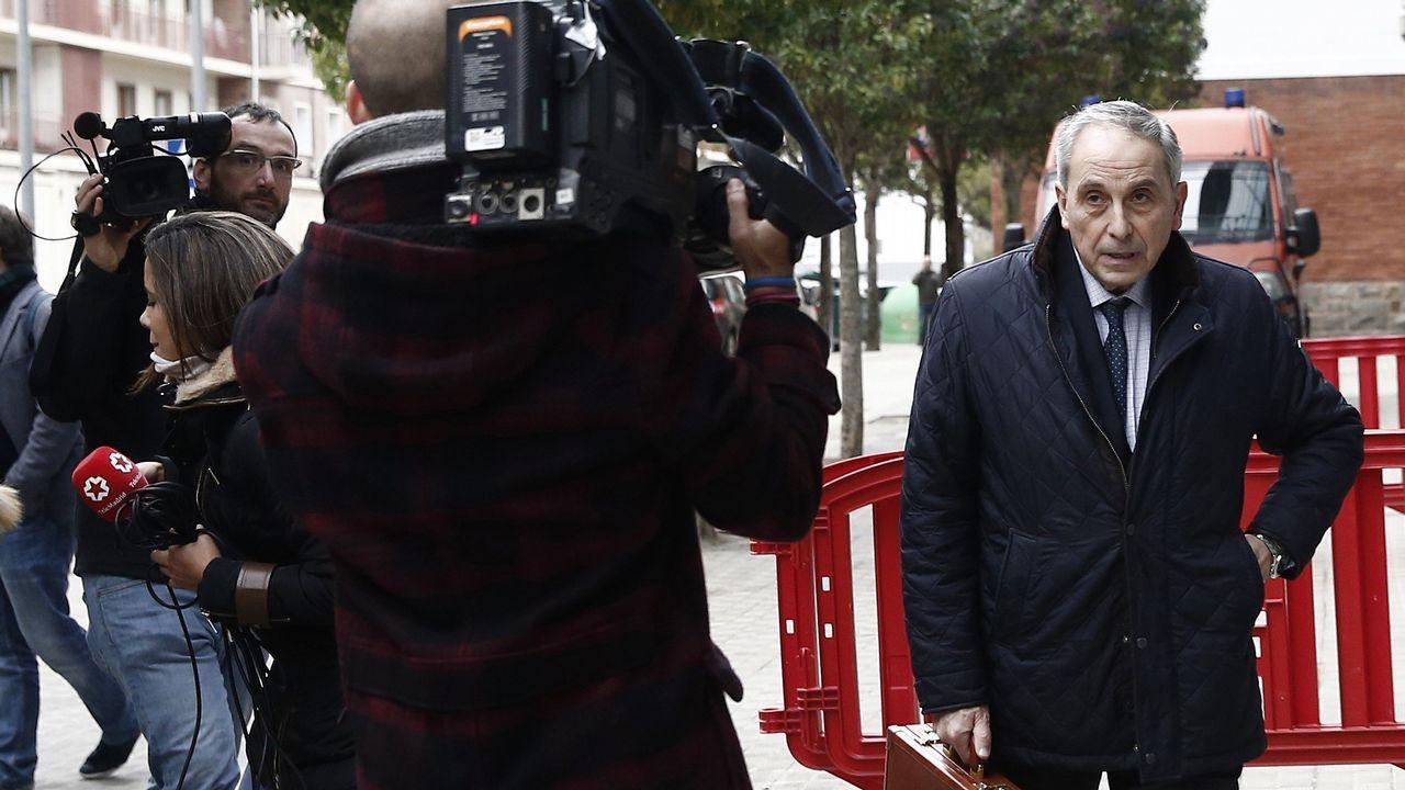 El abogado de la víctima, Carlos Bacaicoa