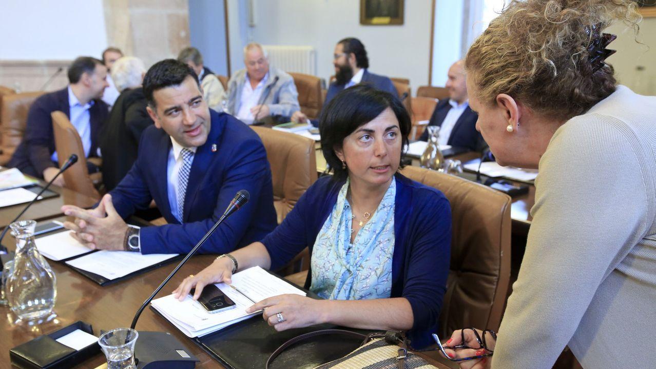 Elena Candia ya es exalcaldesa y exportavoz del PP en la Diputación.Clausura de la anterior edición de la aceleradora de empresas, en el Centro Cívico