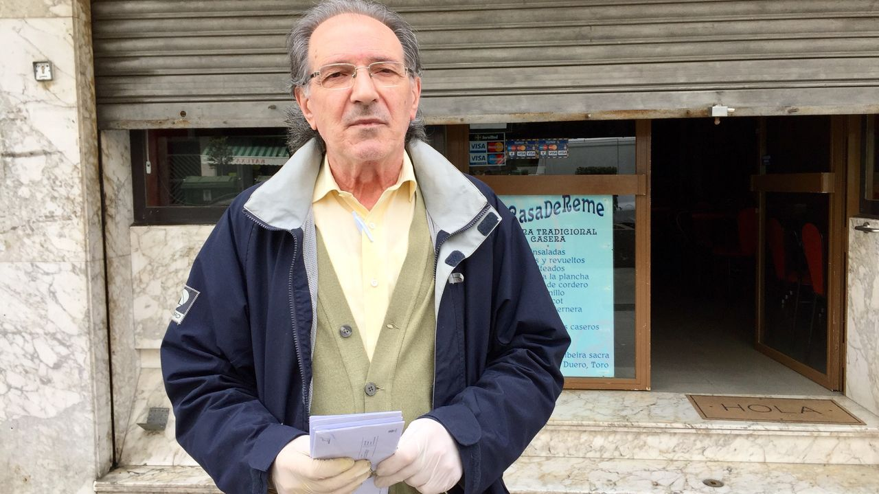 Control de Policía en Isaac Peral en Vigo