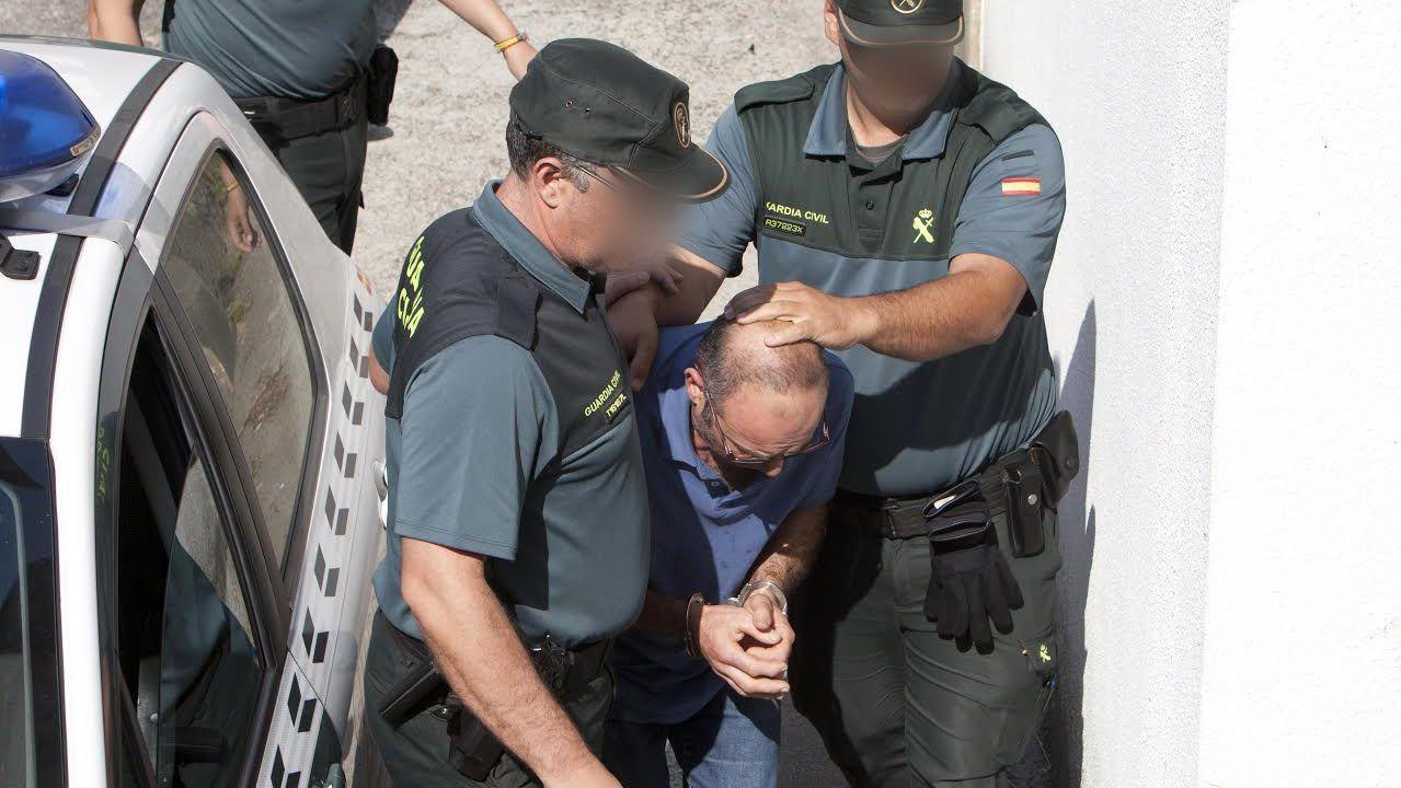 Suspendido el juicio contra Ángel Martínez, Lito, el rey de las orquestas.Momento de la detención del acusado, hace dos años