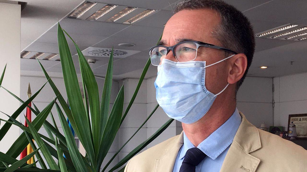 El consejero de Salud del Principado, Pablo Fernández Muñiz