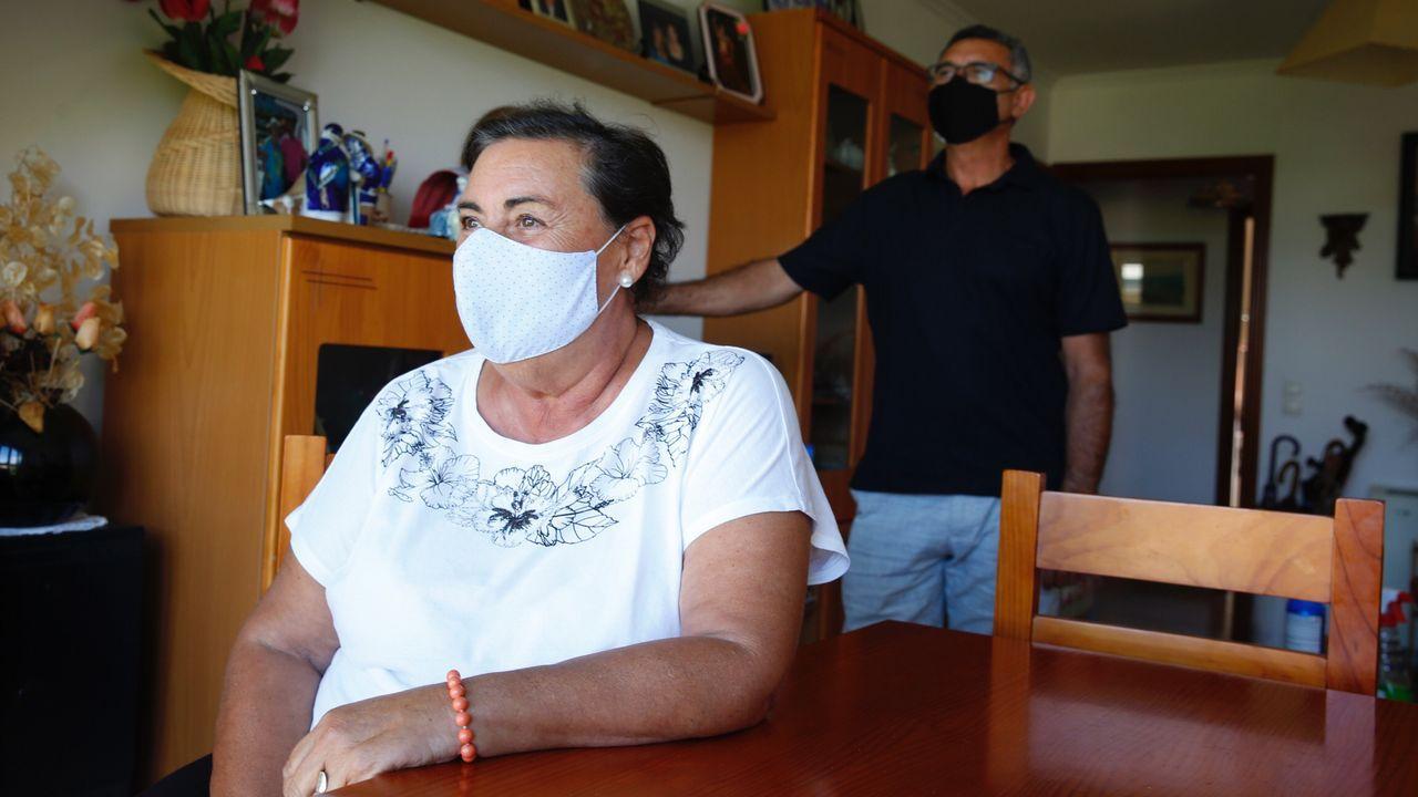 Pasan a disposición judicial los detenidos en la operación contra la fabricación ilegal de tabaco.Controles en Sarria durante el estado de alarma declarado por el coronavirus en toda España