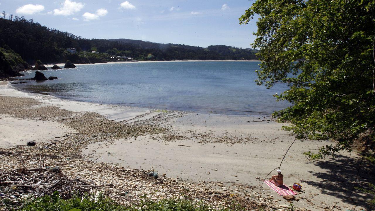 La playa de Arealonga, en un imagen de archivo, donde este miércoles está programada la primera de las Actividades de Natureza