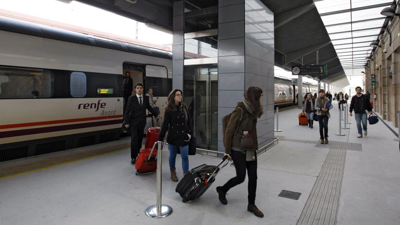 Imagen de archivo del tren Avant en Ourense