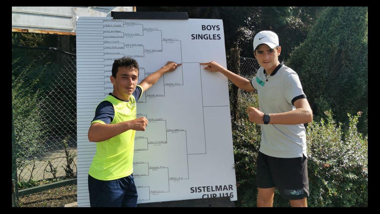 Pablo Carreño, durante el partido de semifinales, en el US Open
