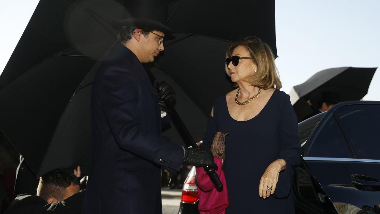 Llegada de los invitados al enlace de Marta Ortega y Carlos Torretta