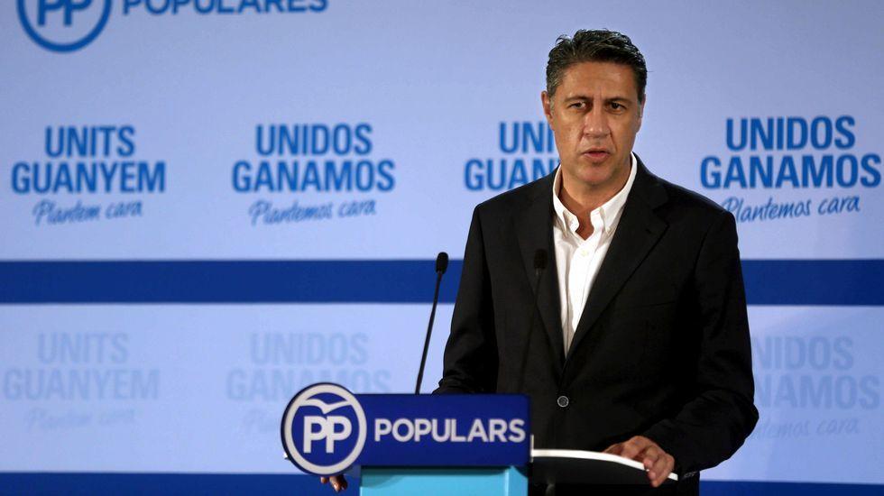 Xavier Garcia Albiol, candidato del PPC, partido que ha obtenido solo 11 escaños. Tenía 19