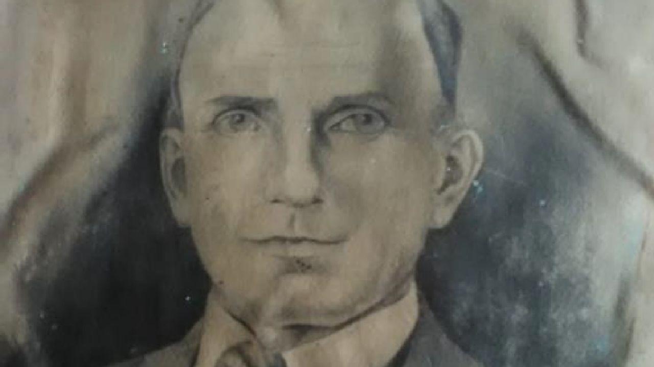 Retrato de Gervasio González Rodríguez, natural de Ribas de Sil