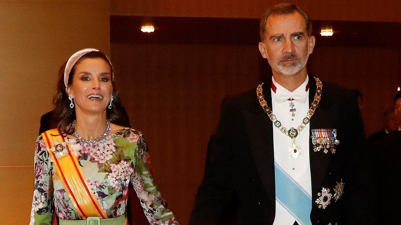 Visitando al rey Juan Carlos tras su operación de corazón en septiembre
