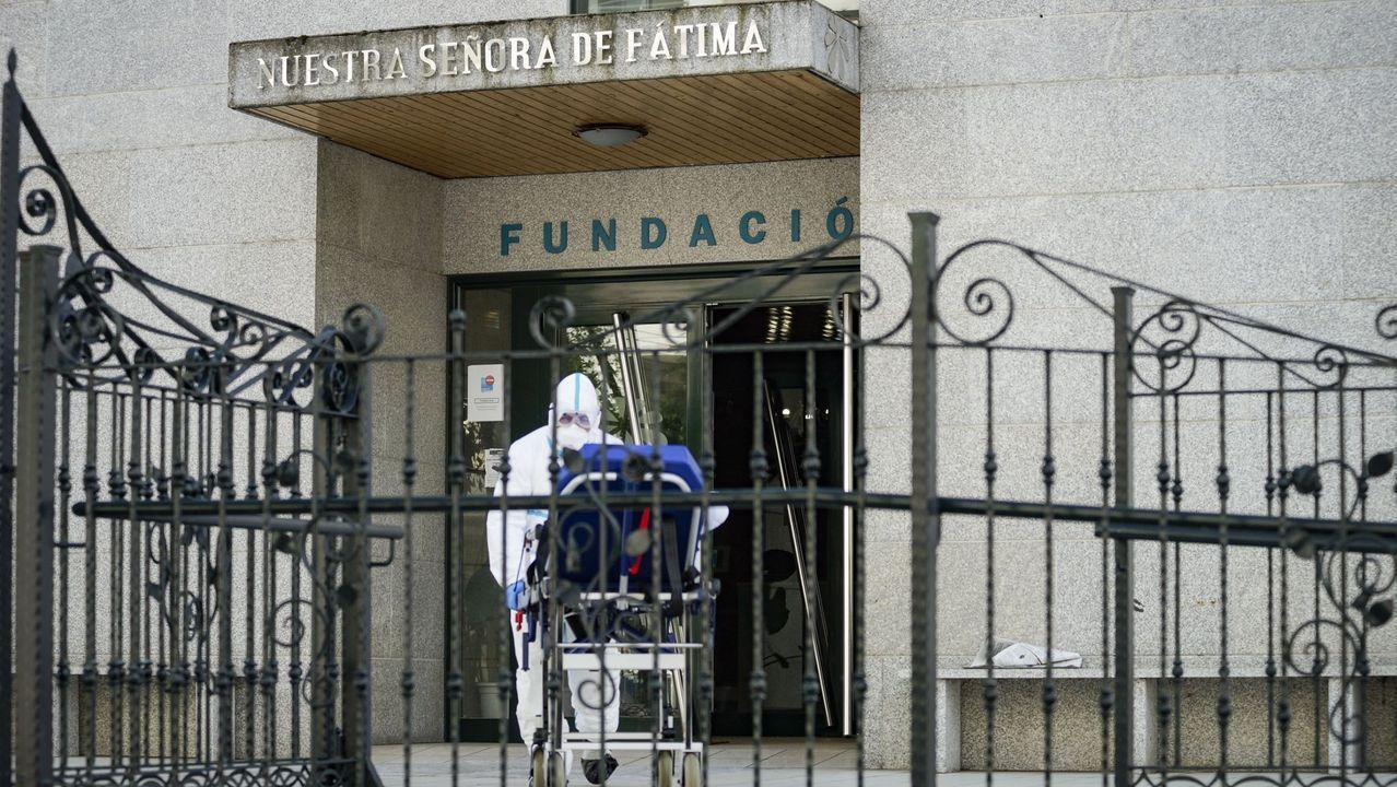Feijoo anuncia la convocatoria de comicios en Galicia.Residencia de mayores de O Barco que ha sido intervenida por la Xunta durante la pandemia