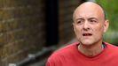 Dominic Cummings, el pasado 4 de mayo, atendiendo a la prensa a la puerta de su casa de Londres