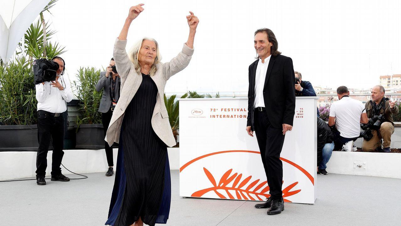 Benedicta revolucionó la alfombra roja de Cannes bailando la primera muiñeira del mítico festival de cine