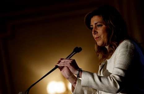 Susana Díaz reclama agilidad a la Justicia para combatir la corrupción y que se la dote de más medios para ello.