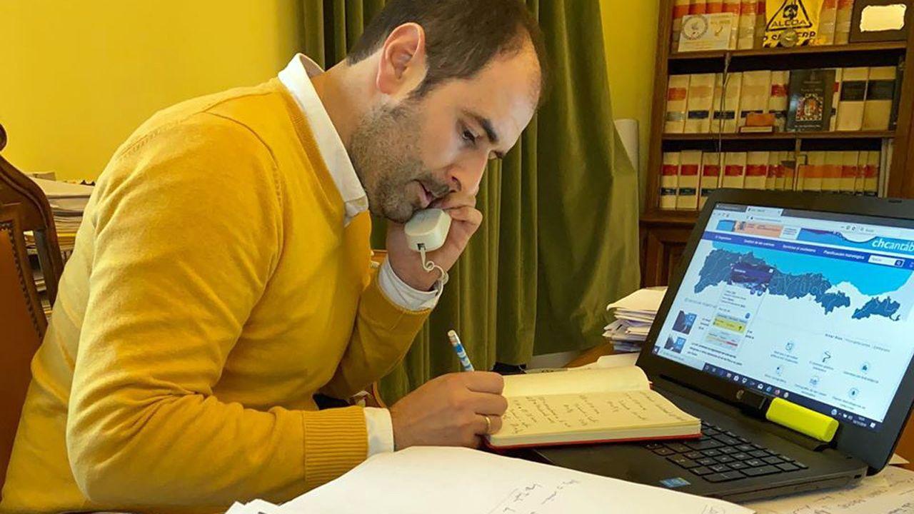 El alcalde de Pravia, David Álvarez, en una imagen de archivo