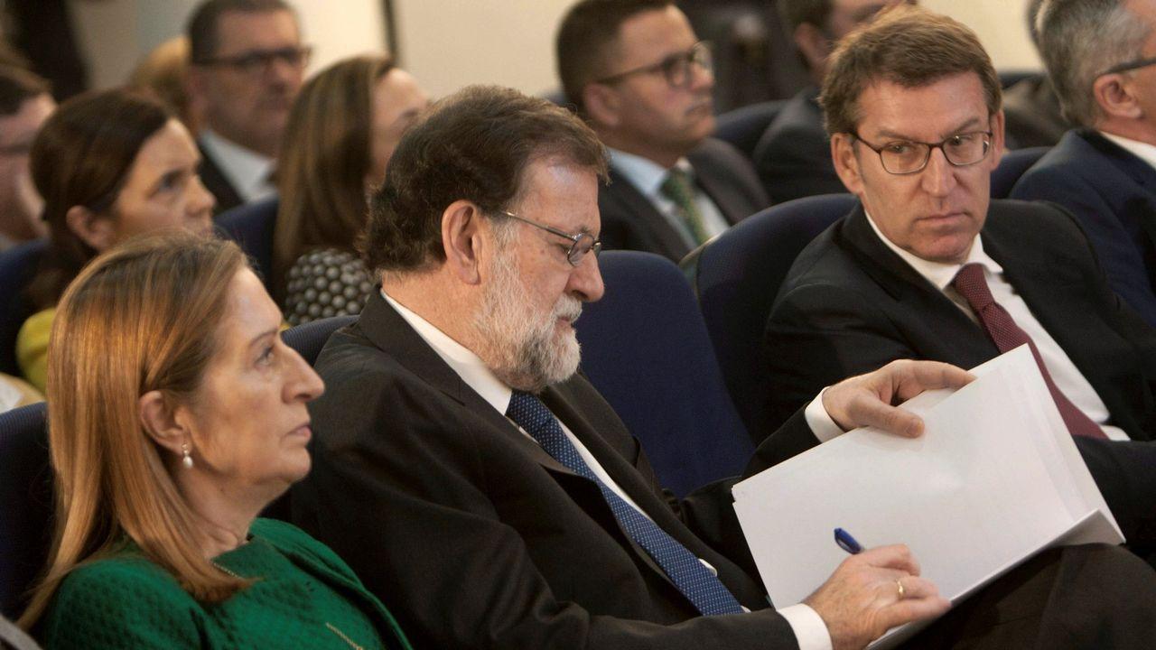 Feijoo dijo este domingo en Lalín que el PP está en un periodo de reflexión, que debe aprovecharse para recuperar la ilusión. Reclamó escuchar a la militancia