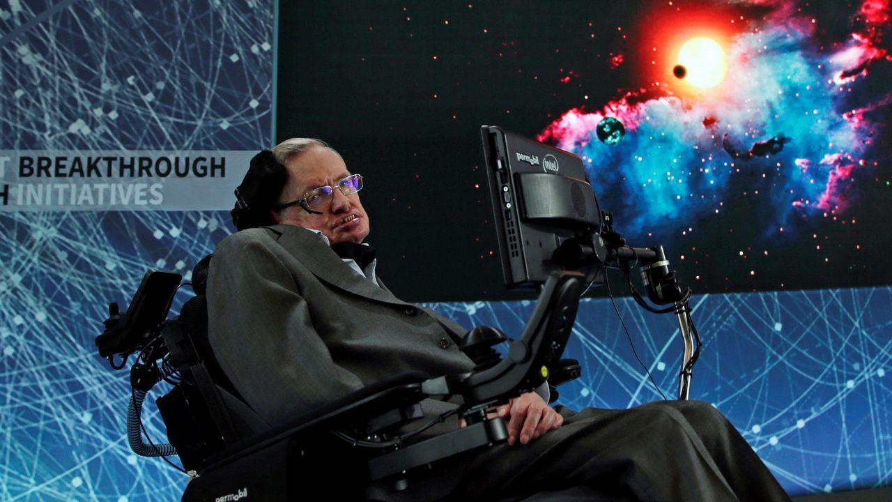 Siguiendo los pasos de un artista.A Hawking le diagnosticaron ELA a los 21 años, pero nunca se rindió