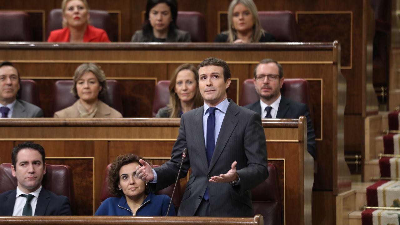 Para Pablo Casado, al menos siete ministros o secretarios de Estado deberían estar fuera del Gobierno según el listón puesto por Sánchez