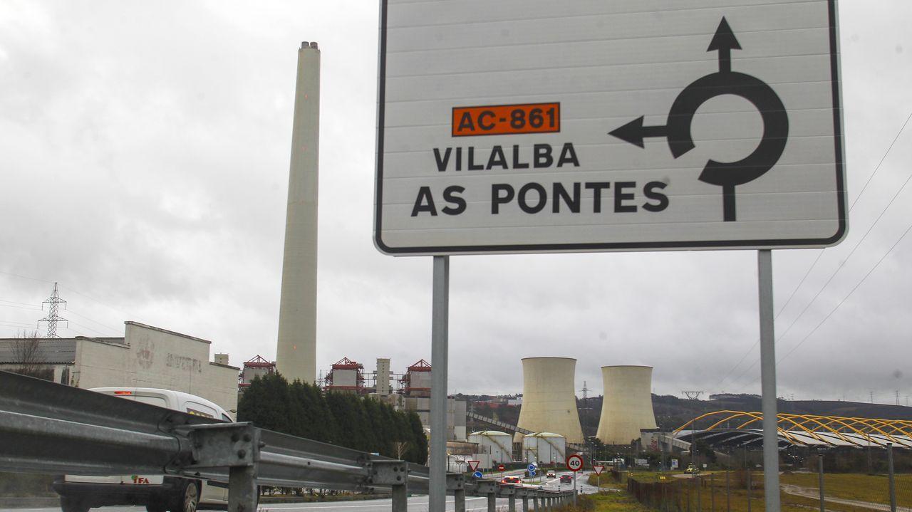 Cribado masivo realizado en As Pontes en diciembre, tras un incremento abrupto de los contagios