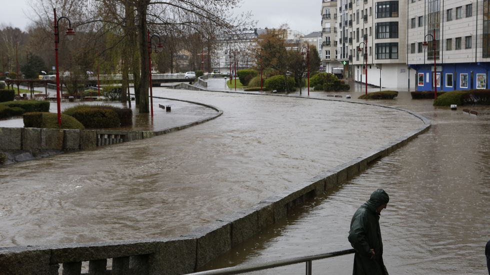 Inundaciones en Carballo.