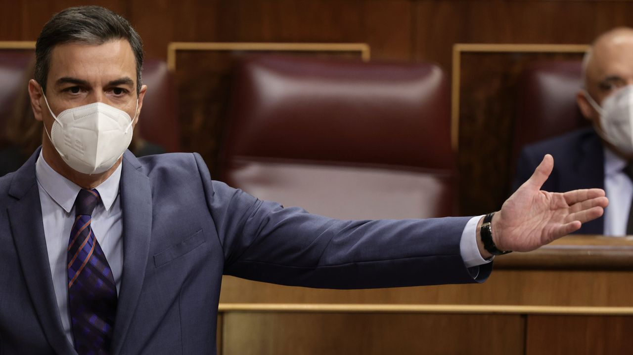 Sánchez confirma que el Gobierno indultará mañana a los presos del «procés».El presidente del Gobierno, Pedro Sánchez, este miércoles, durante el pleno del Congreso de los Diputados