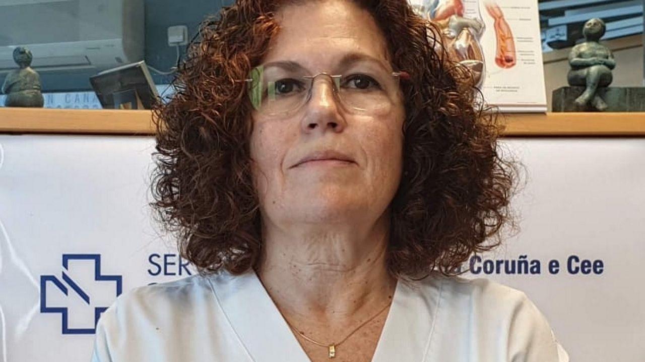 Marta Mosquera en A coruña