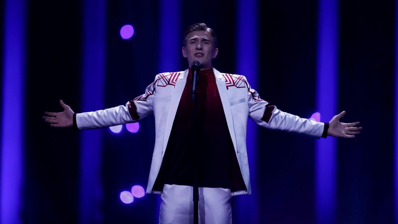 Ari Ólafsson, de Islandia