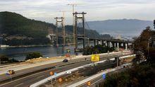 Obras de ampliación del Puente de Rande