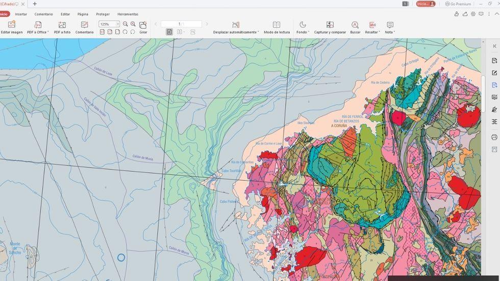 Fuente:  Fragmento del Mapa Geológico de España y Portugal 1:1.000.000. IGME LNEG. L.R. Rodriguez y T.Oliveira (Eds) 2014.