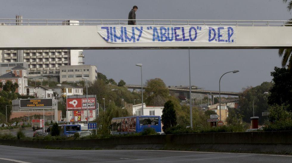 Vídeo: Así fue la pelea de los Riazor Blues y el Frente Atlético.El lugar donde fue arrojado al río Jimmy