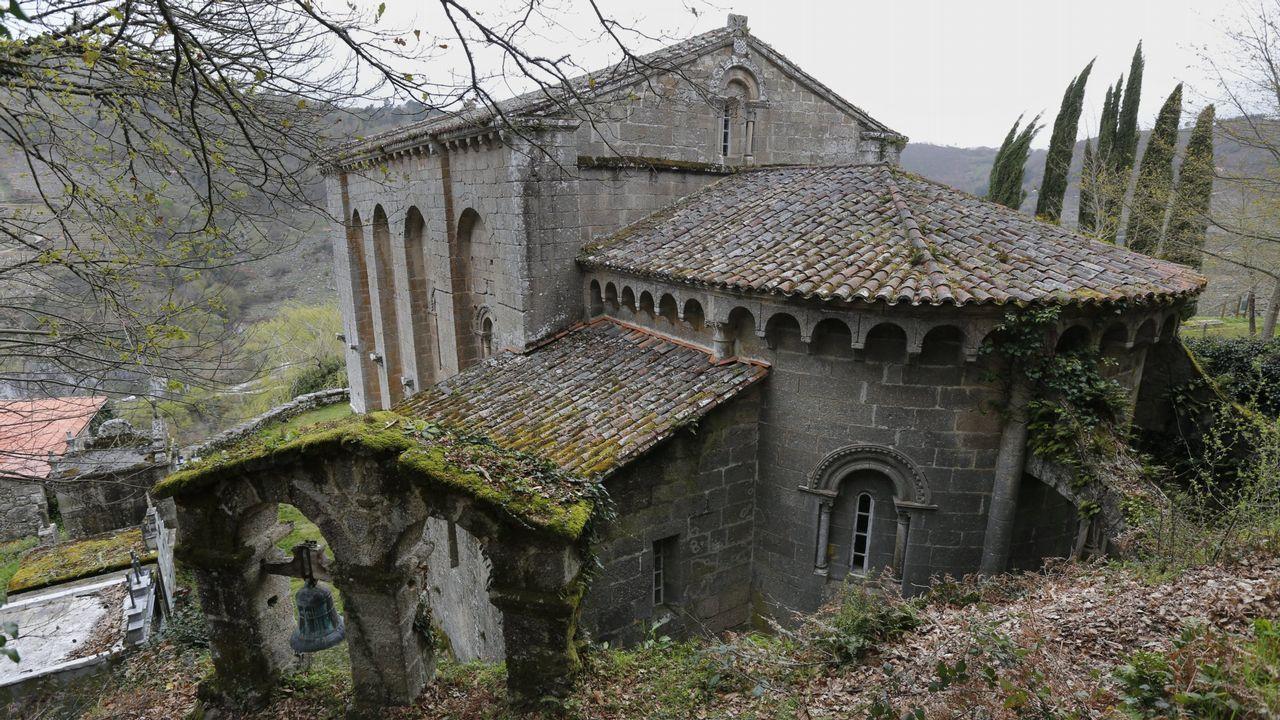 La Ribeira Sacra, la mayor concentración de románico rural de Europa