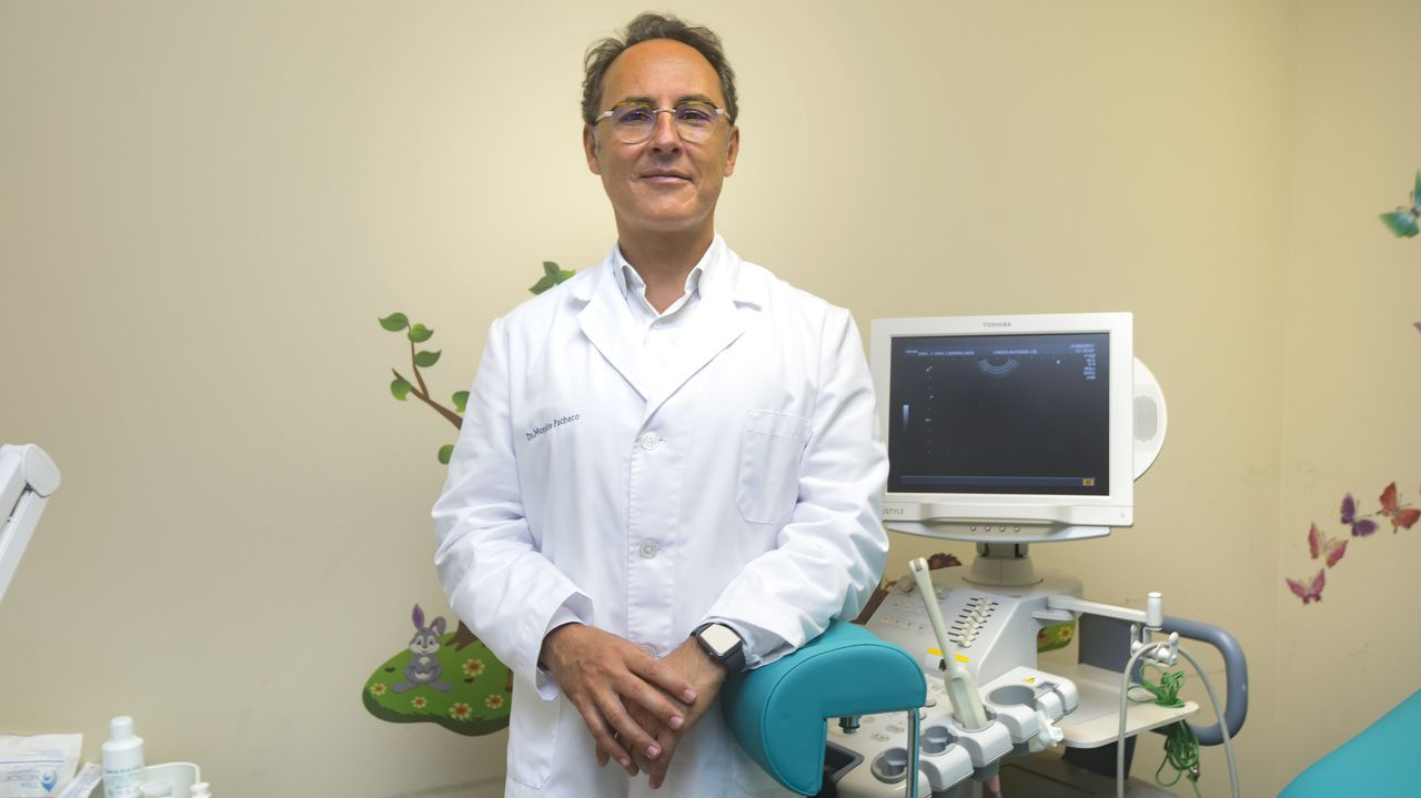 El ginecólogo Moisés Moreira Pacheco