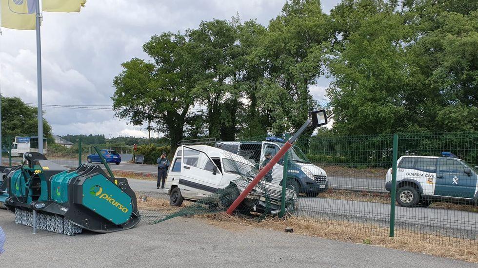 Muere un camionero de Ferrol en un accidente en Lugo.Imagen de archivo de la AP-9