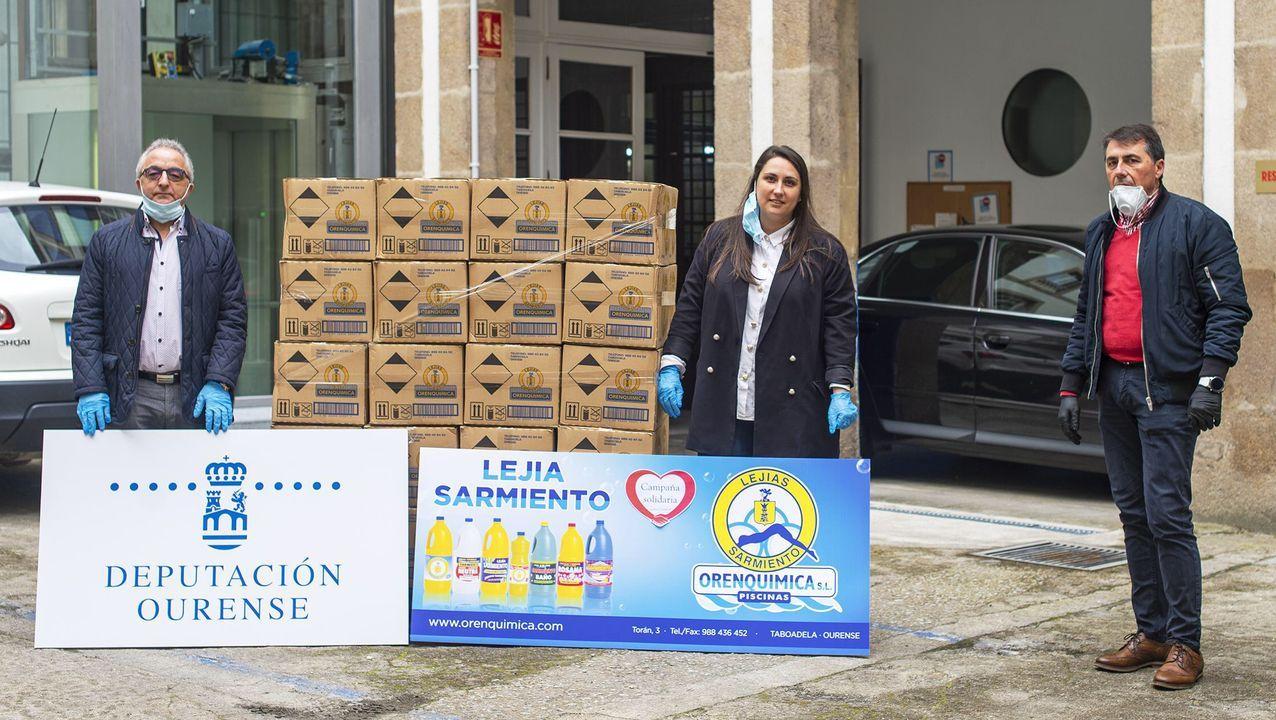 Ana Villarino, alcaldesa de Oímbra:«É moi posible que pases a Verín ou Portugal».Montse Justo, hija del fallecido ferreiro das Chás