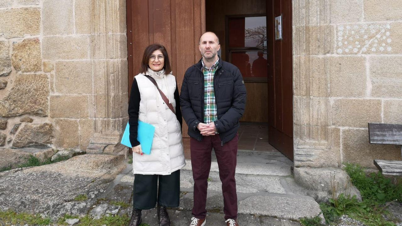 El alcalde de Ourense, Gonzalo Pérez Jácome, opina sobre la evolución del coronavirus.La concejala de Política Social y el alcalde visitaron el viejo albergue de peregrinos para comprobar que puede recibir a sintecho si es necesario