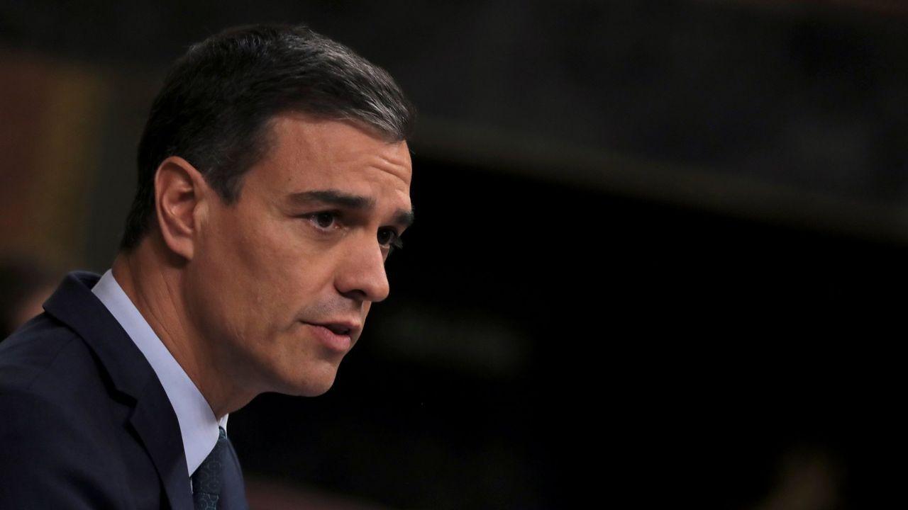 Sánchez ofrece a Podemos una oficina de control del acuerdo de Gobierno.El presidente del Gobierno en funciones, Pedro Sánchez