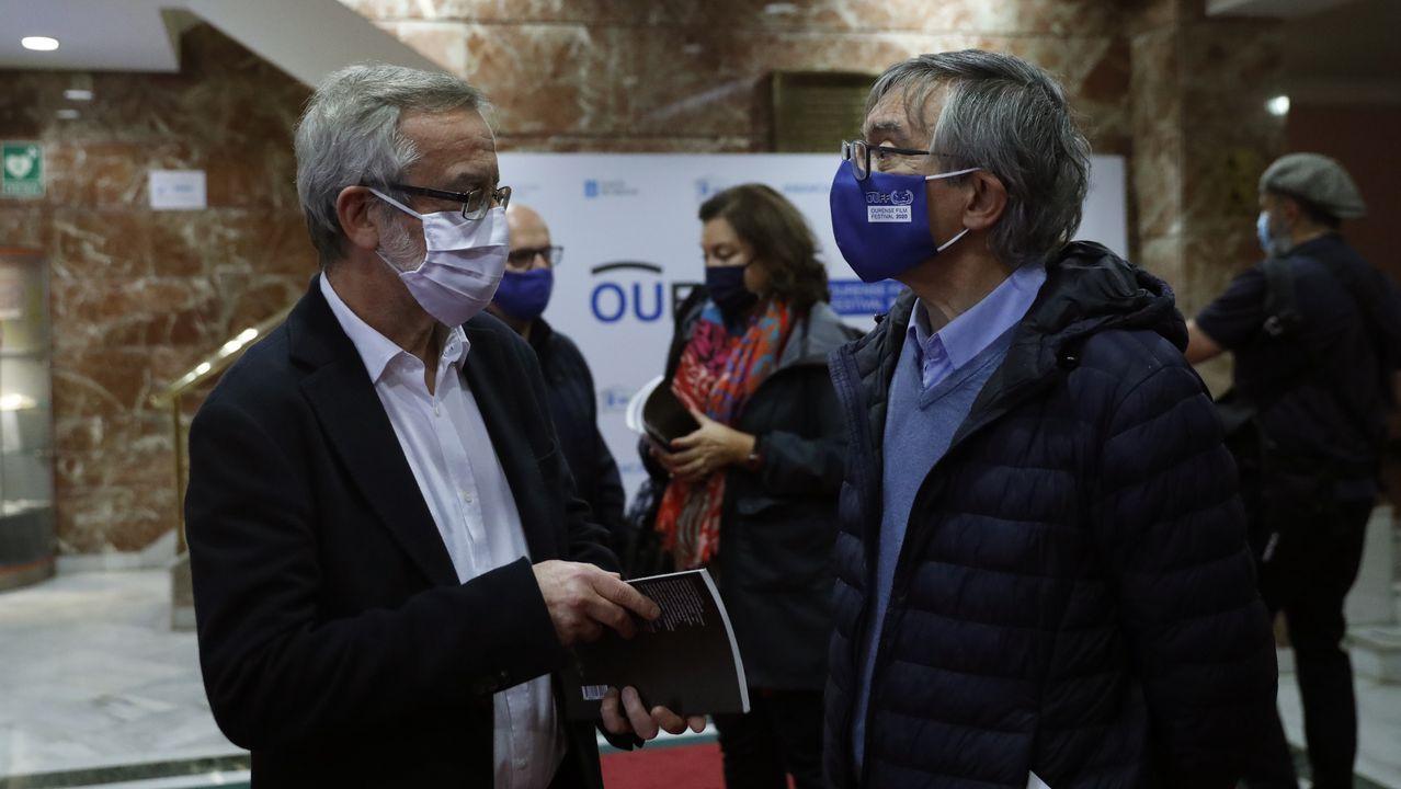 Fin ao primeiro cuarto de século do OUFF.Eduardo Galán y Raúl Veiga, en el OUFF