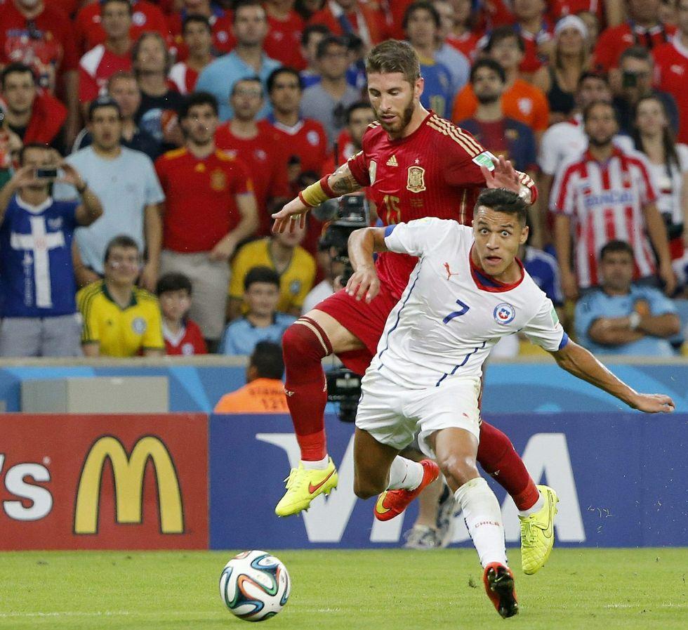 La previa del España-Chile fue lo más visto del año.