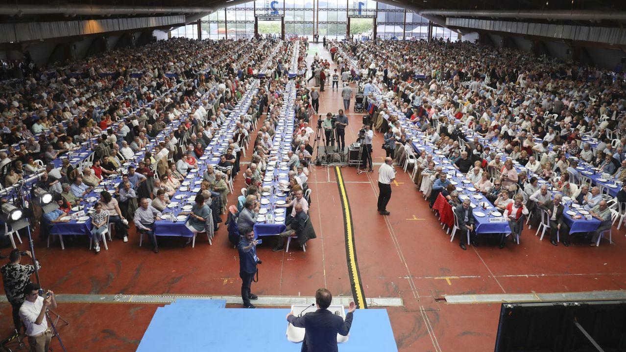 El PP reúne a cuatro mil personas en Amio.BEATRIZ MATO SE REUNE CON LAS JUNTAS DIRECTIVAS DE LOS POLÍGONOS INDUSTRIALES