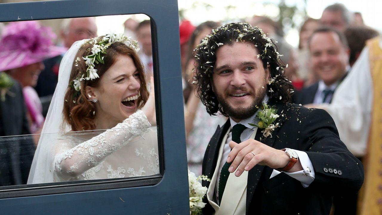 La boda real de «Juego de Tronos» en Escocia.José Miguel Mulet