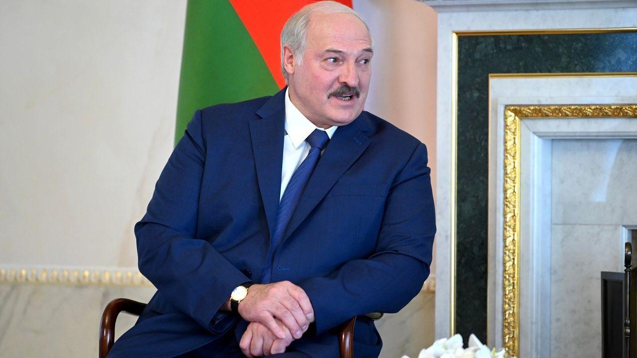 El presidente bielorruso, Alexánder Lukashenko