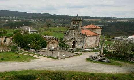 La iglesia de Santiago de Taboada, en Silleda, contará con servicio de guía.