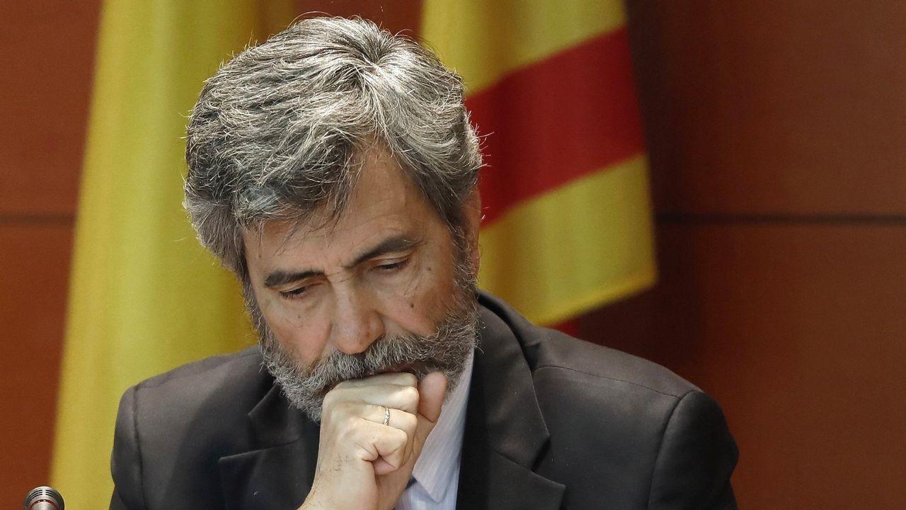 El presidente del Tribunal Supremo y del Consejo General del Poder Judicial (CGPJ), Carlos Lesmes