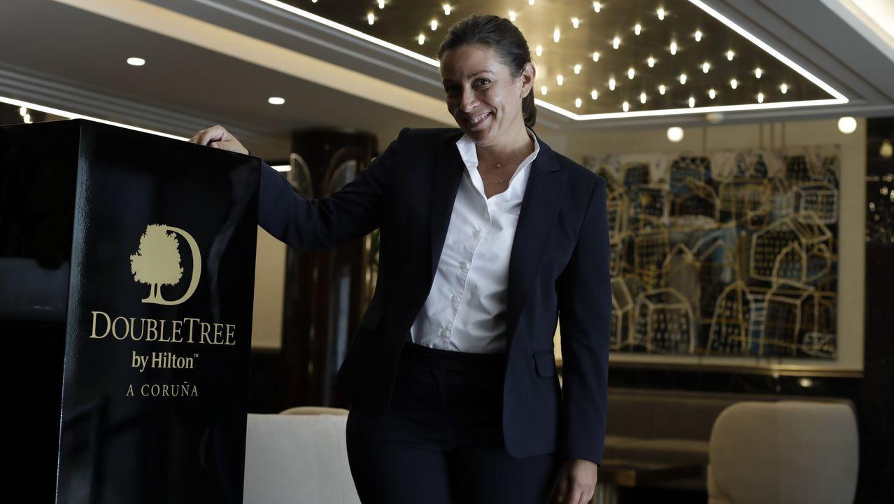 Lucía Suárez Pardo es la subdirectora del nuevo hotel Hilton de A Coruña