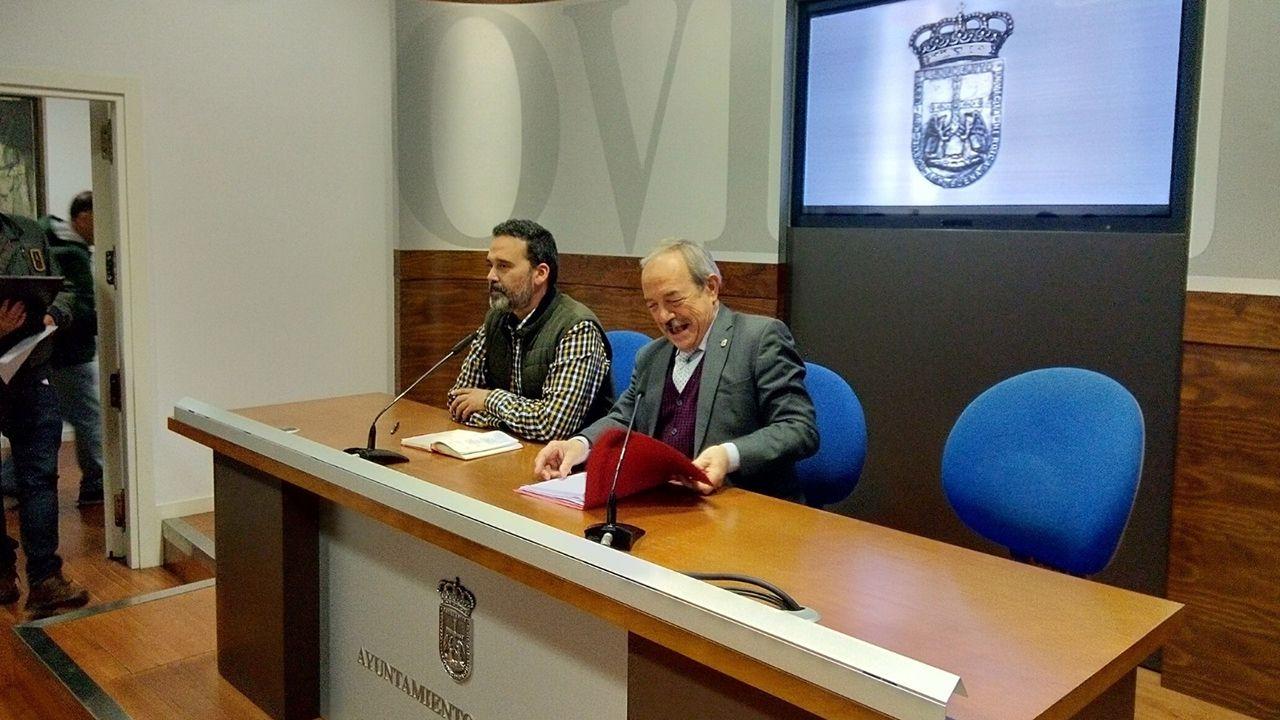 El presidente de Otea, José Luis Álvarez Almeida.Wenceslao López y Ricardo Fernández