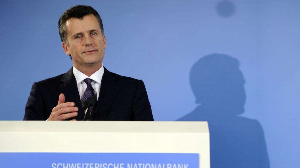 El presidente del Banco Nacional Suizo, philipp Hildebrand.