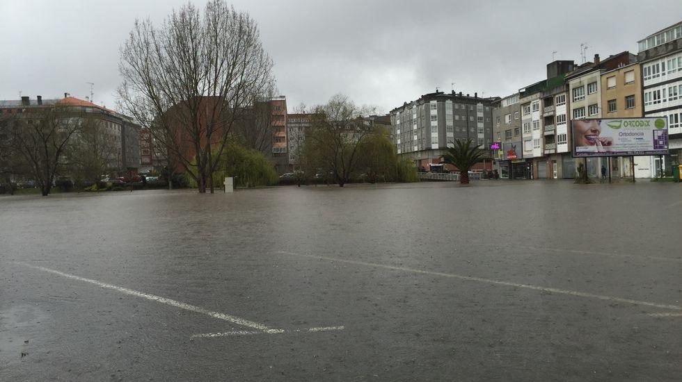 Inundaciones en Carballo